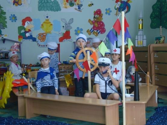 Подготовительная группа отправляется в игровое морское путешествие