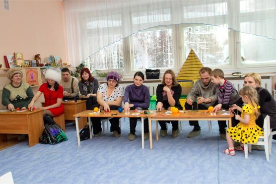 Мастер-класс для родителей по пальчиковым играм