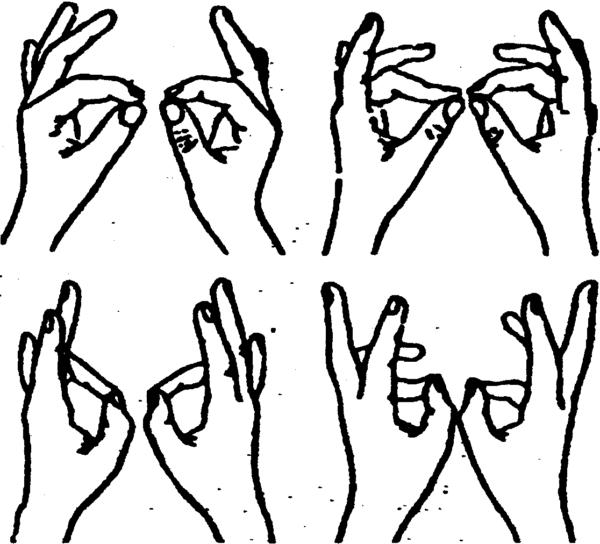 Методика «Перебор пальцев»