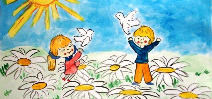 мир у детей