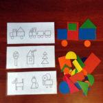 набор для изучения геометр фигур