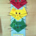 «Кошачий светофор» — поделка в технике оригами