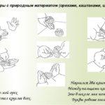 Пальчиковые игры с природным материалом