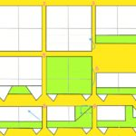 Схема изготовления грузовика в технике оригами