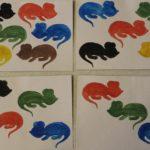 Весёлые мышата