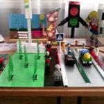 Выставка детских поделок на тему «Безопасное движение на дорогах»