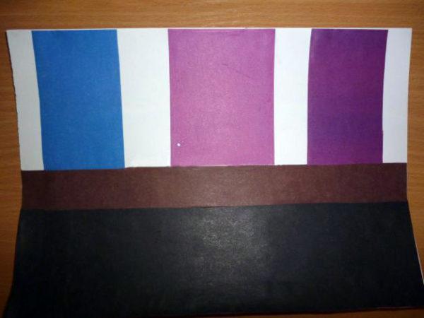 Пример заготовки из бумаги