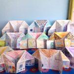 Домики оригами