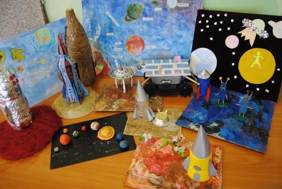 Поделки на тему космоса