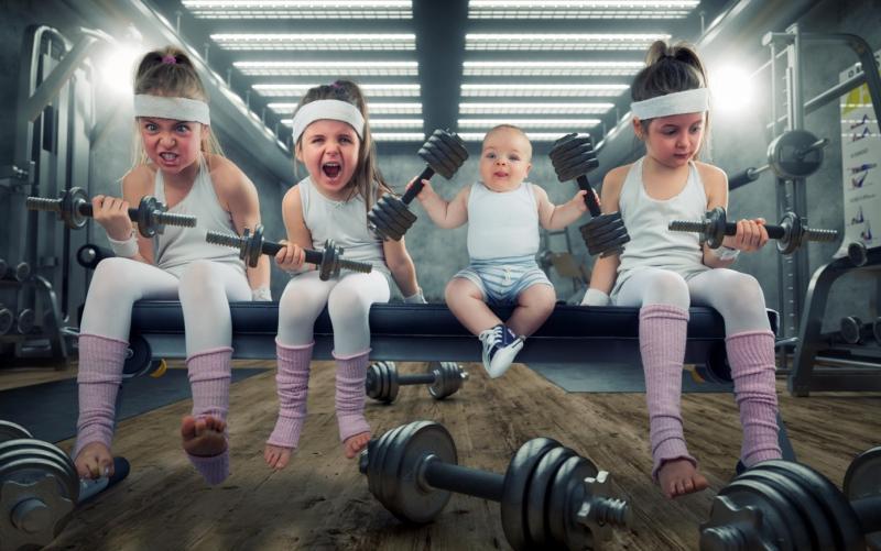 Потребность в двигательной активности у маленьких детей естественна, её нужно удовлетворять!