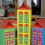 Три дома из тетрапаков