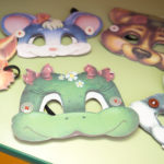 Маски животных из бумаги