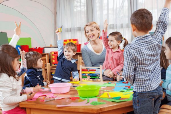 Занятие с младшими дошкольниками