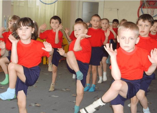 музыкальная зарядка в детском саду скачать бесплатно