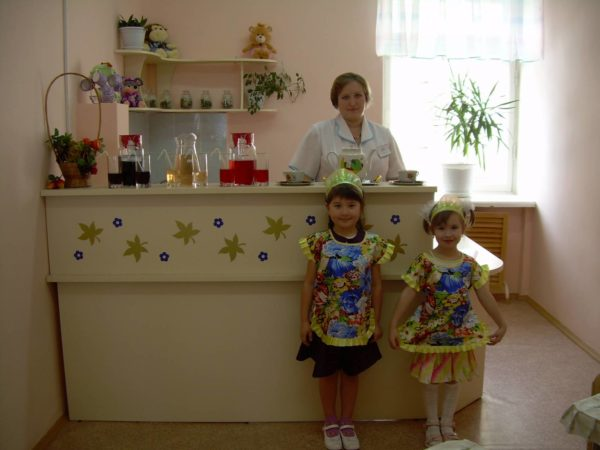 Фитобар в детском саду