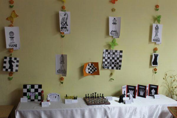 Конкурс рисунков и поделок на тему шахмат