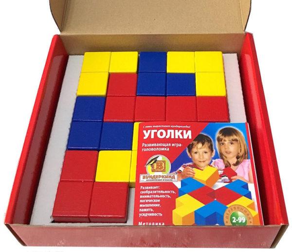 Коробка с кубиками Никитина