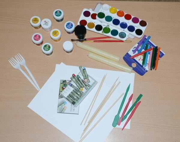 Материалы и инструменты, необходимые для работы