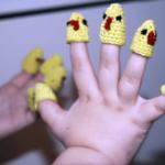 пальчиковые куклы-колпачки