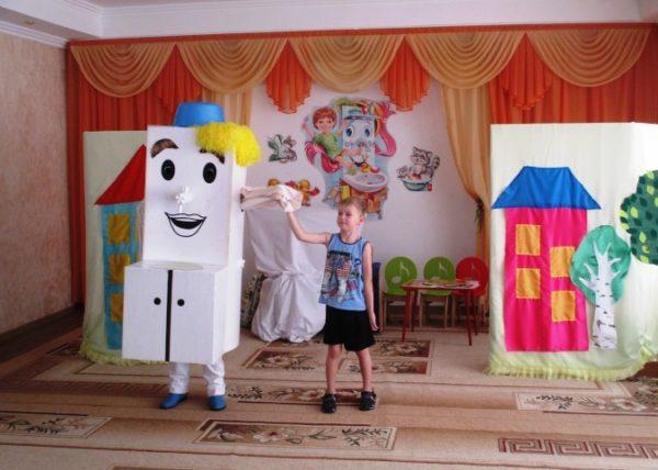 Инсценировка сказки «Мойдодыр» в детском саду