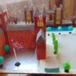 Макет Вестминстерского дворца с Биг-Беном