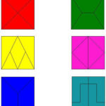 Квадраты, составленные из других геометрических фигур