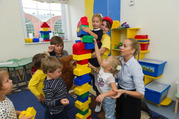 Конструирование с малышами