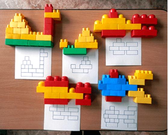 Лего-конструирование в детском саду: проведение занятия, схемы и ...