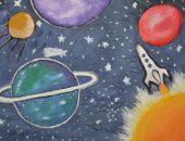 Детский рисунок планет