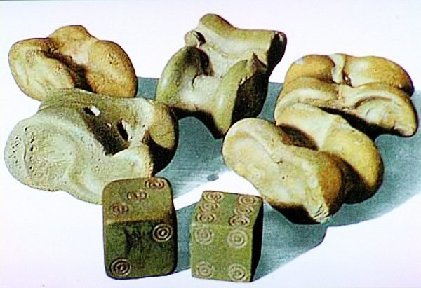 Старинные игральные кости