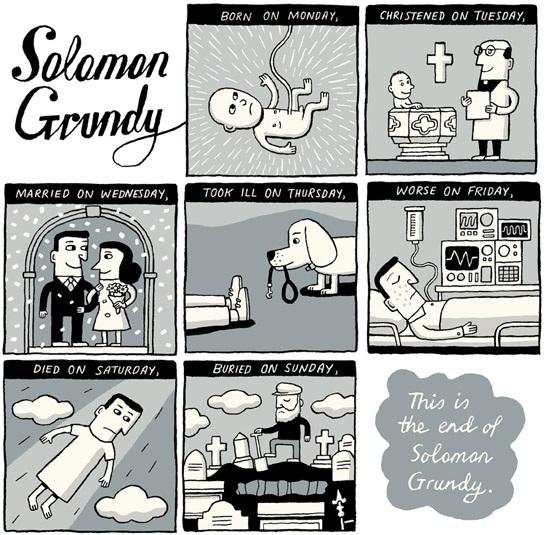 Иллюстрация к считалке Соломона Гранди