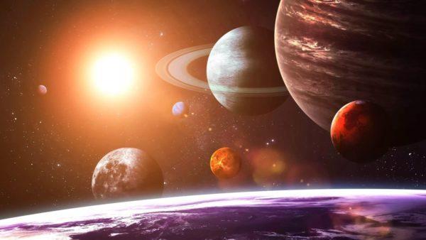 Изображение планет Солнечной системы