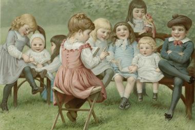 Считалки с давних пор используются в детских играх и на занятиях.