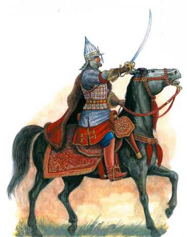 Воевода на коне