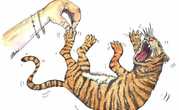 Иллюстрация к английской считалке