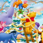 Новогодний Винни Пух