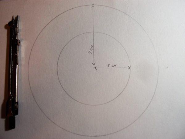 Шаблон круга