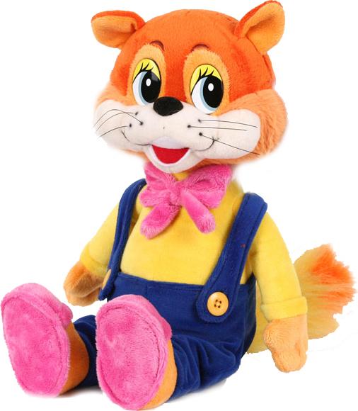 Игрушечный кот Леопольд