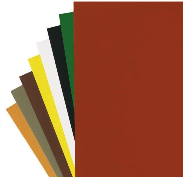 Цветная бумага разных тонов
