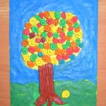Контурная, дерево
