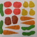 Прямая, овощи