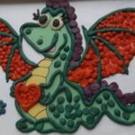 Фактурная, дракон