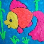 Рыбка, пластилинография