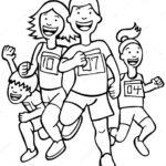 Семья бегунов