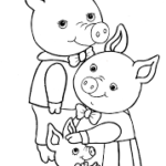 Семья свиней