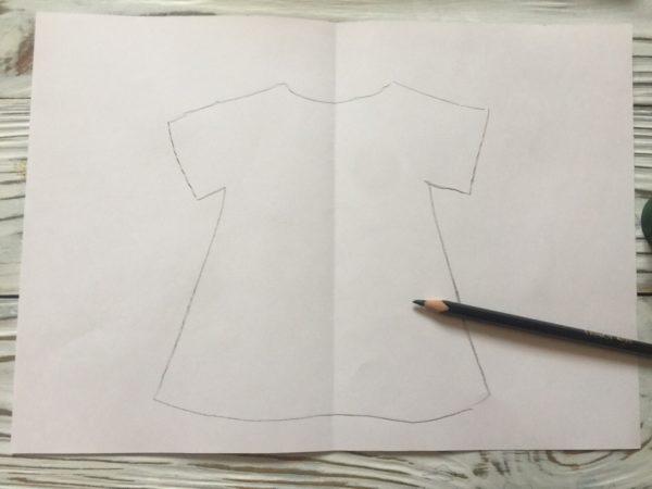 Рисуем платье