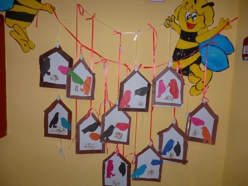 Выставка детских аппликаций