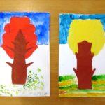 Симметричная, дерево