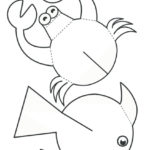 Объёмные аппликации рыбки и краба