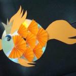 Круглая рыбка